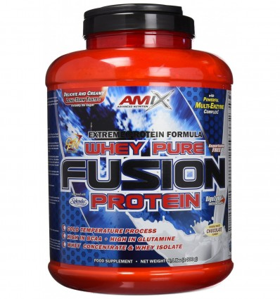 Amix Whey Pure Fusion Proteínas - 2300 gr__8594159538801