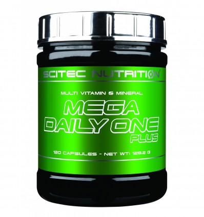 Scitec Nutrition Mega Daily One Plus Multivitaminas Y Minerales - 120 gr