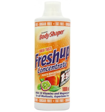 Weider Peach- Passion Fruit 1000ml Body Shaper Fresh Up Light Concentrate by Weider