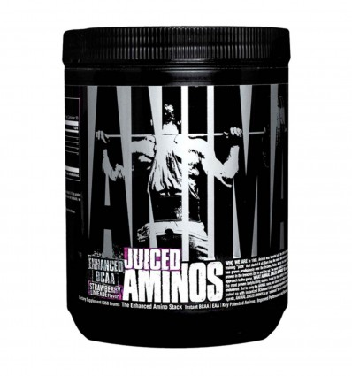 Universal Nutrition Animal Juiced Aminos, Strawberry Limeade, 30 Count by Universal Nutrition