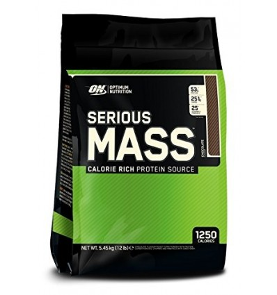 Optimum Nutrition Serious Mass Ganador, Chocolate - 5443g