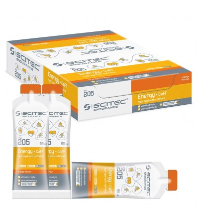 Scitec Endurance Energy hydrogel + caff orange - 12 x 55 ml