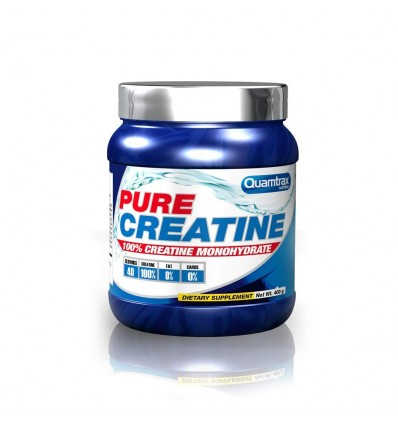 Quamtrax Nutrition Pure Creatine, Sabor Neutro - 400 gr