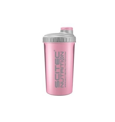 scitec Nutrition Coctelera, 700 ml, color rosa