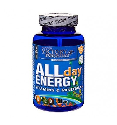 Weider Victory Endurance, All Day Energy - 90 Capsulas