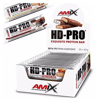 HD-PRO EXQUISITE PROTEIN BAR 20X60GR TOFFEE CHOCOLATE