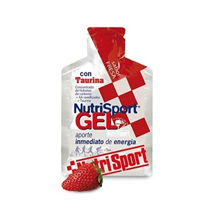 Nutrisport Gel Taurina Cycling 24 x 40ml Fresa